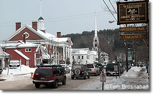 Winter in Stowe, Vermont