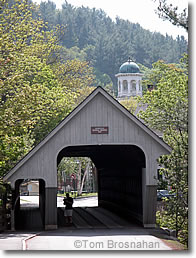 Covered Bridge, Woodstock VT